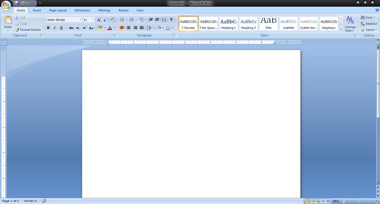 Membuat Border pada layout kerja MS.Word – INFO KNOWLEDGE