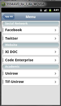 Langsung aja berikut cara membuat Aplikasi Web Mobile device Android